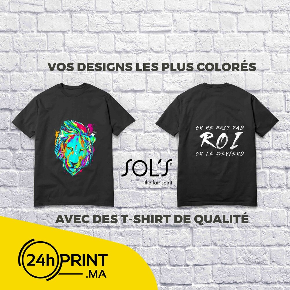 Tshirt Personnalisé > Qualité Premium
