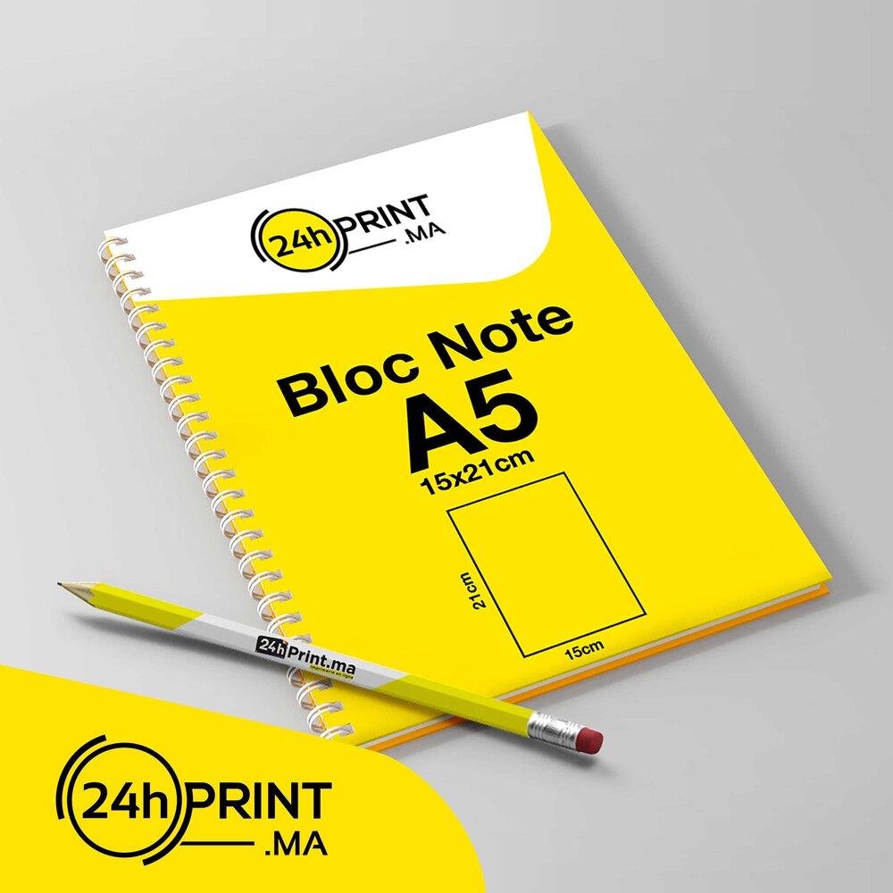 Bloc Note > Spirale A5