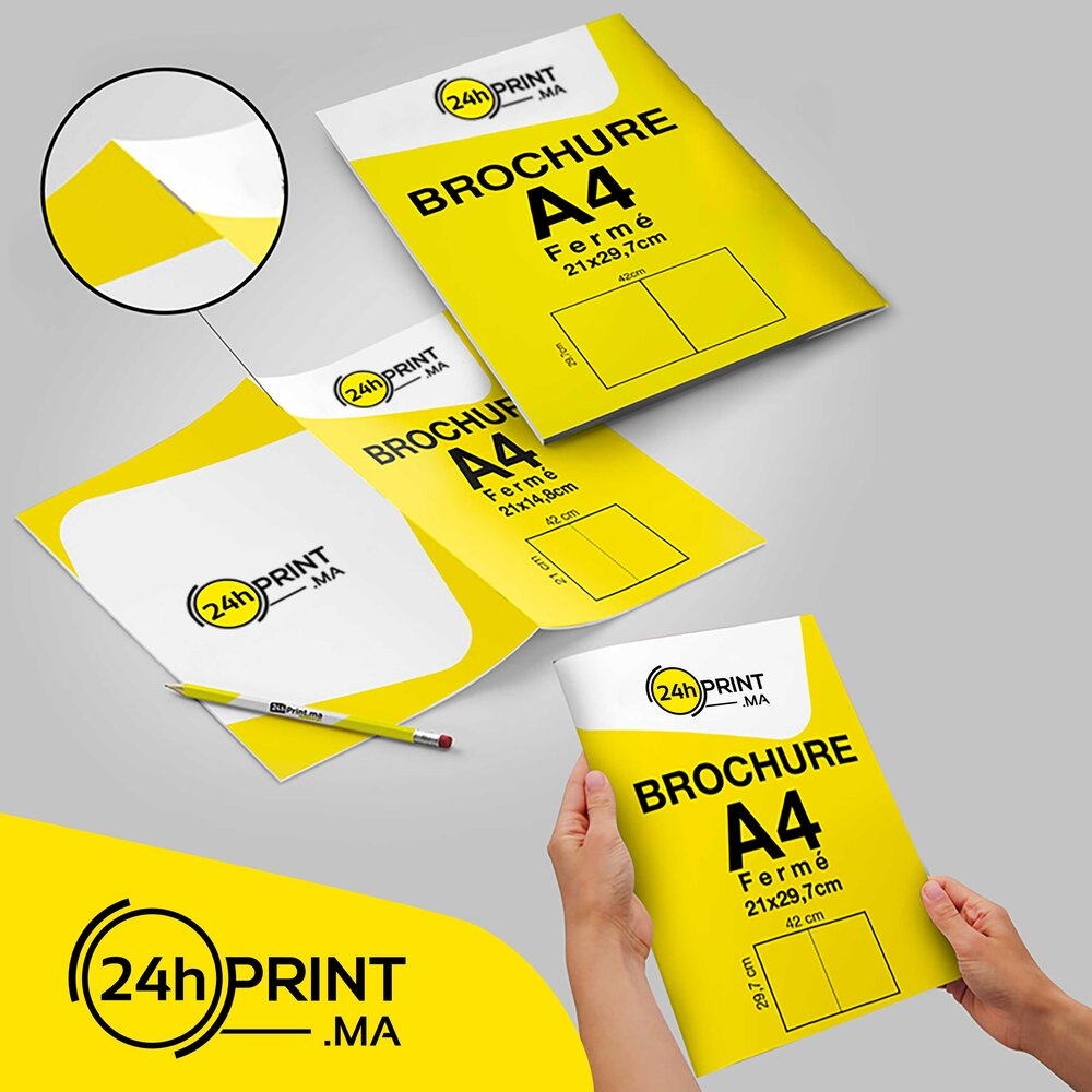 Brochure ou catalogue A4