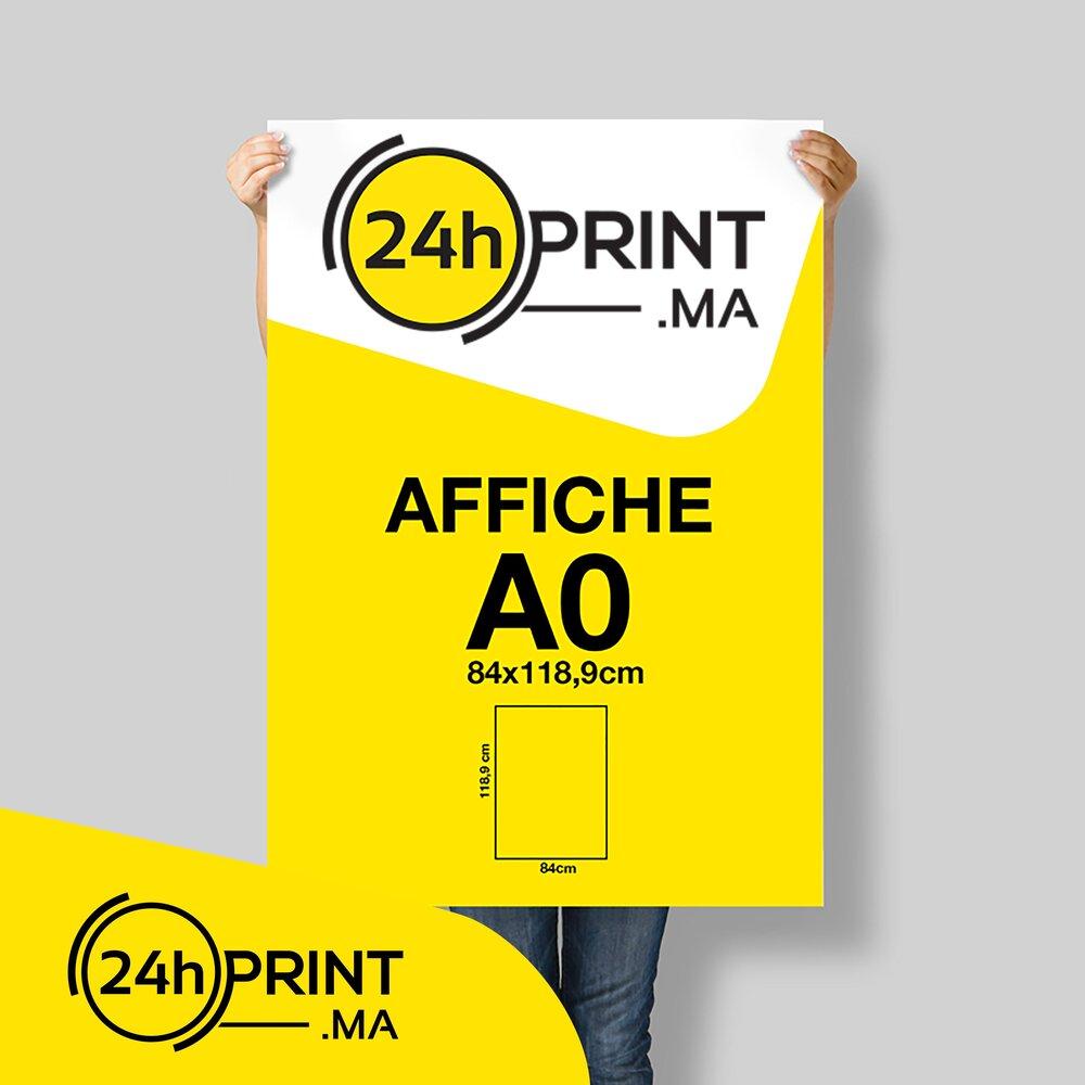 Affiche A0 - 84,1 * 119 cm