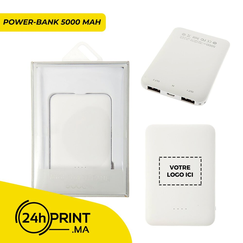 Mini Power Bank > modèle 1