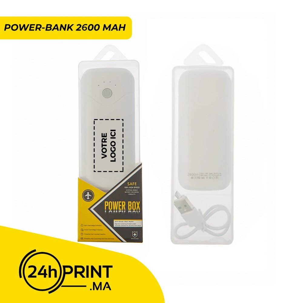 Mini Power Bank > modèle 2