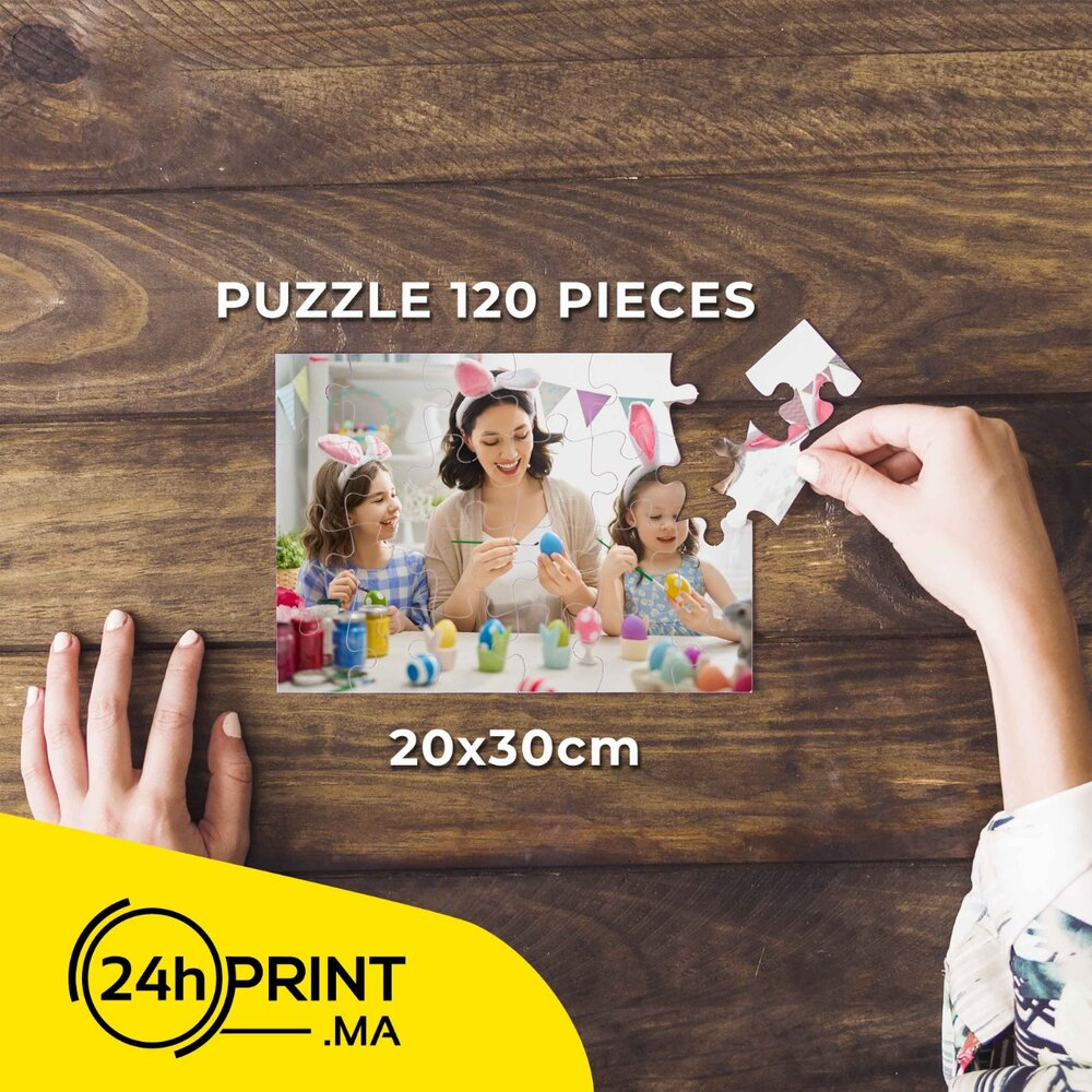 Puzzle Personnalisé > 120 pièces