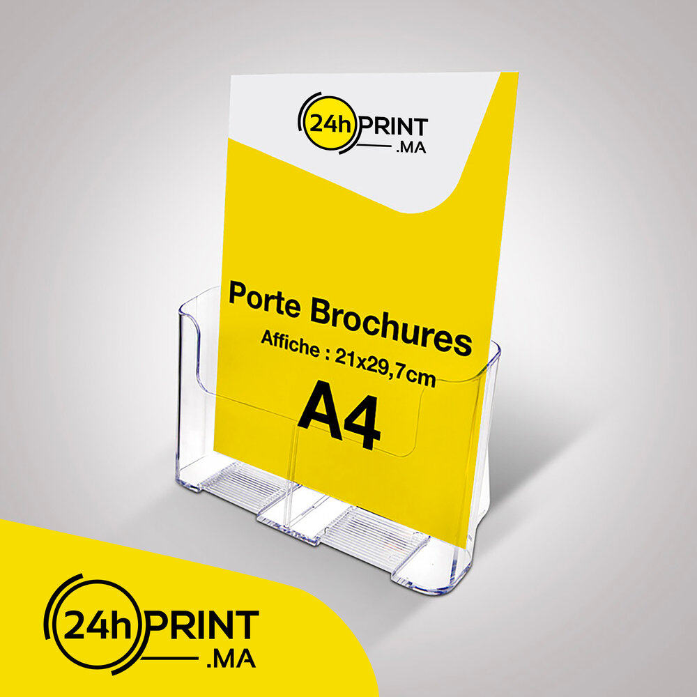 Porte Brochures A4