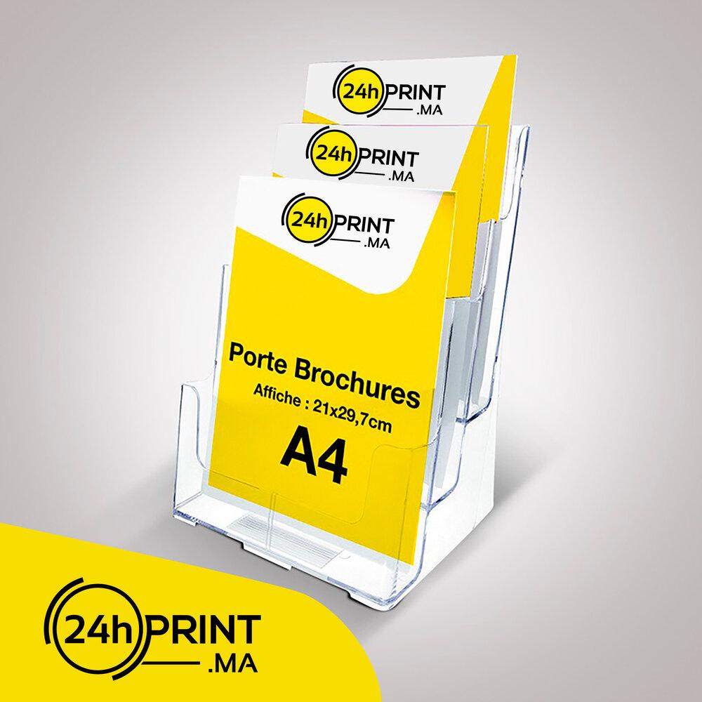 Porte Brochures  A4 3N