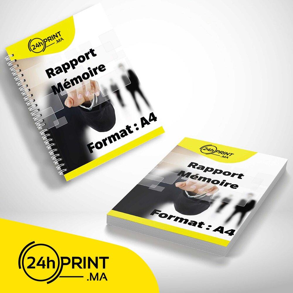 Catalogue ou Rapport > A4