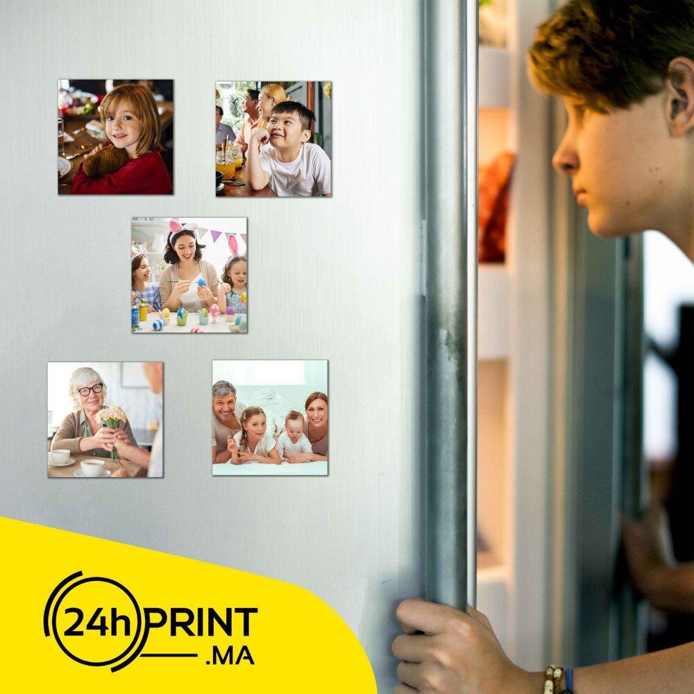 Photo Magnet > Support Aimanté