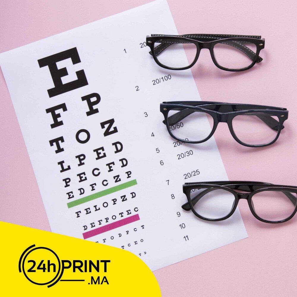 Affiche > Test de vision
