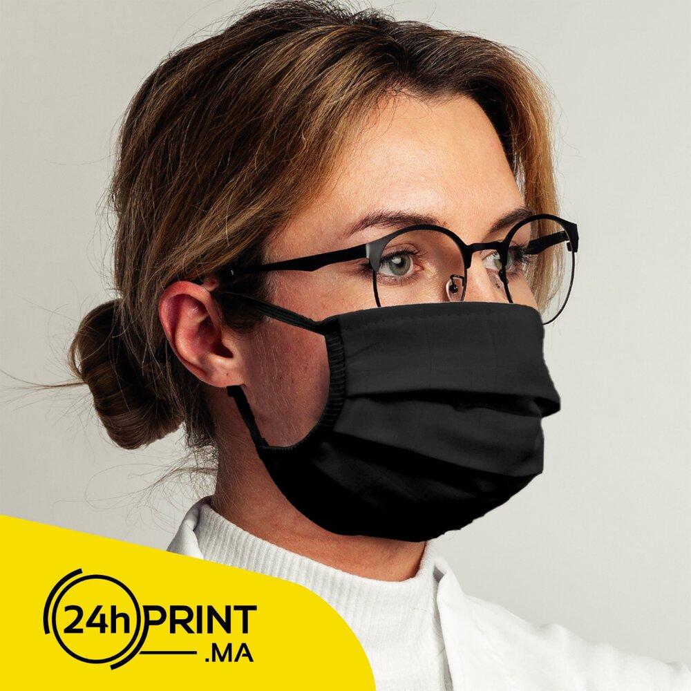 Masque Réutilisable Noir