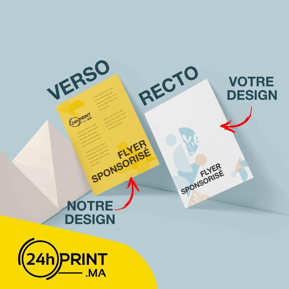 Flyers A5 > Verso Sponsorisé
