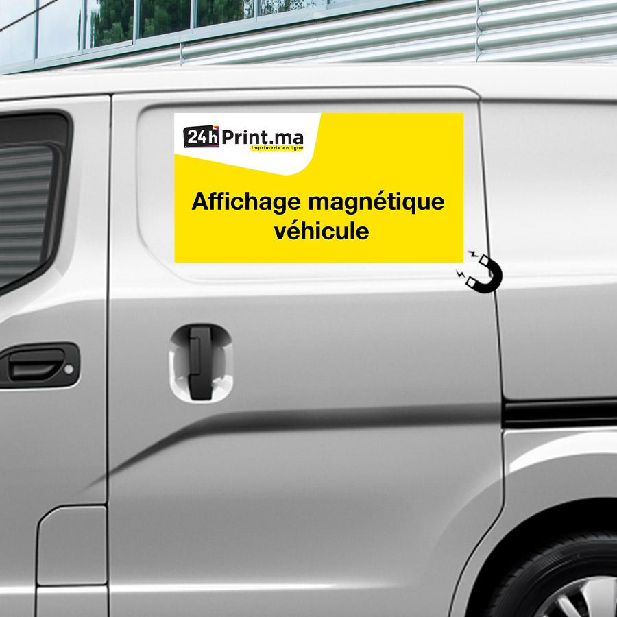 Plaque Magnétique véhicule
