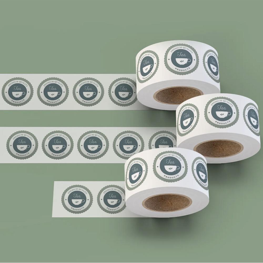 Impression étiquettes en bobine