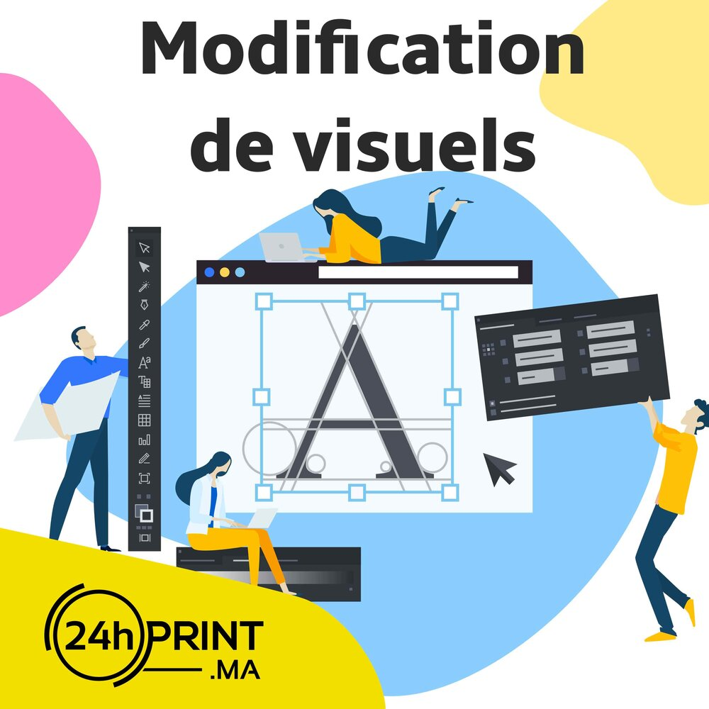 Modification de visuels
