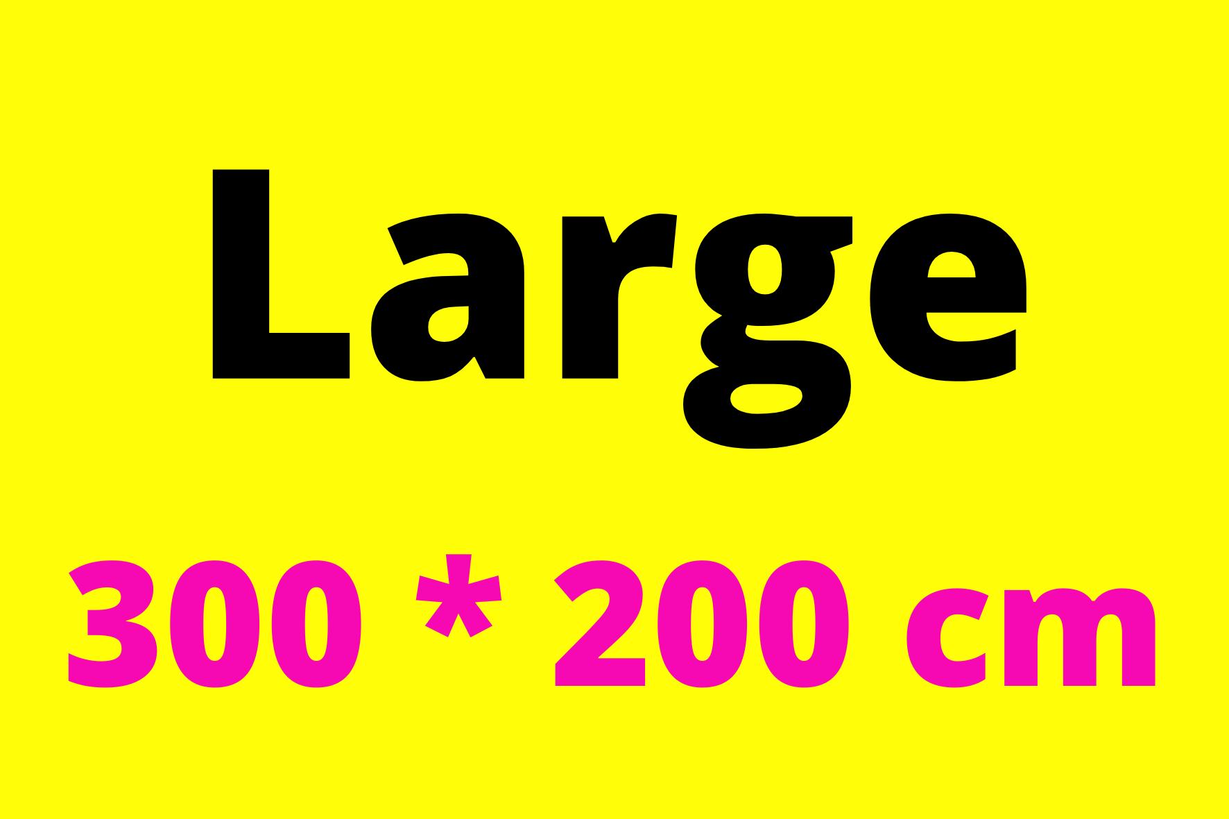 300*200 cm