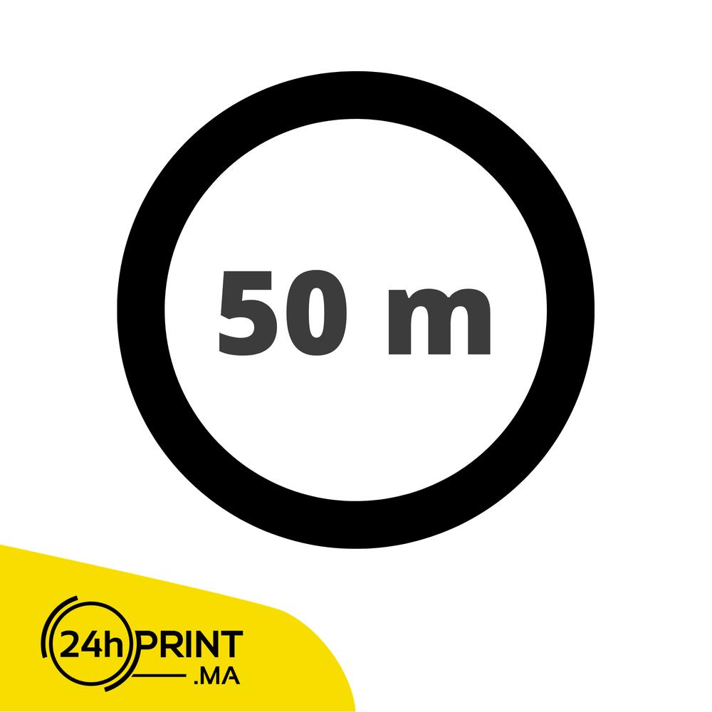 50 mètre / par rouleau