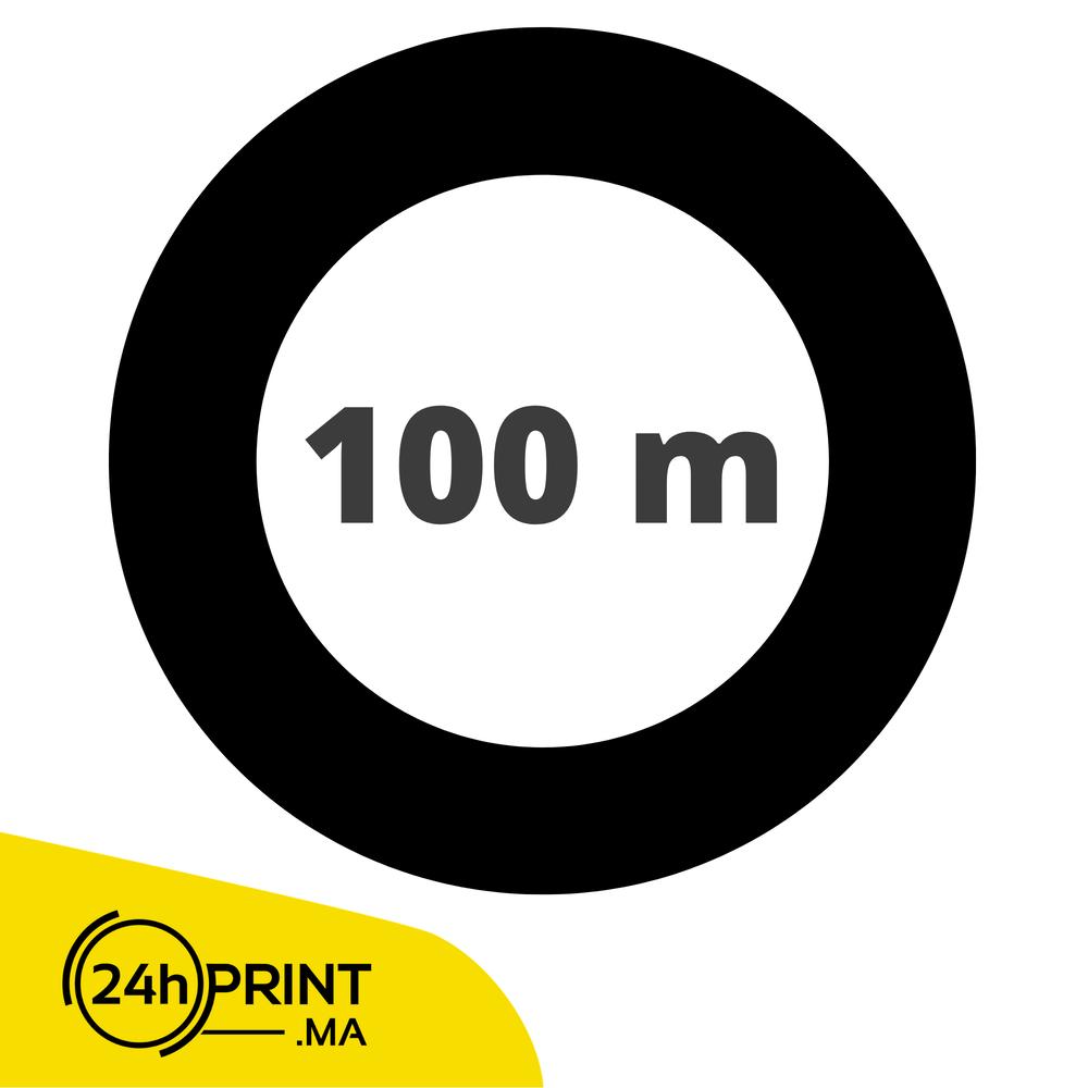100 mètre / par rouleau