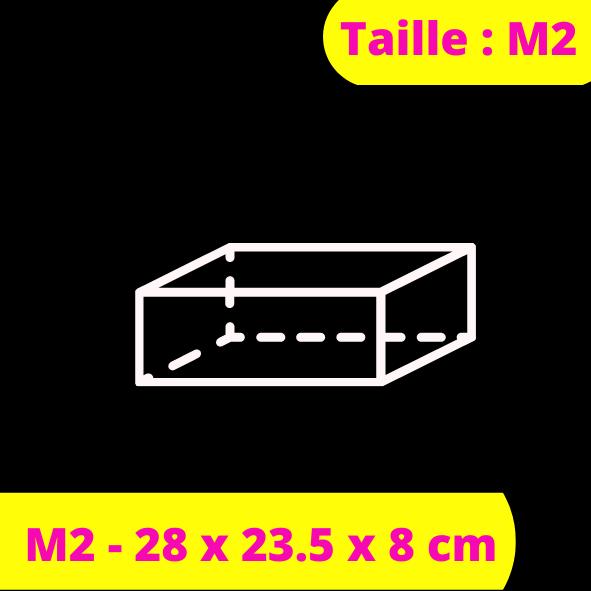 M2 - 28 x 23.5 x 8 cm