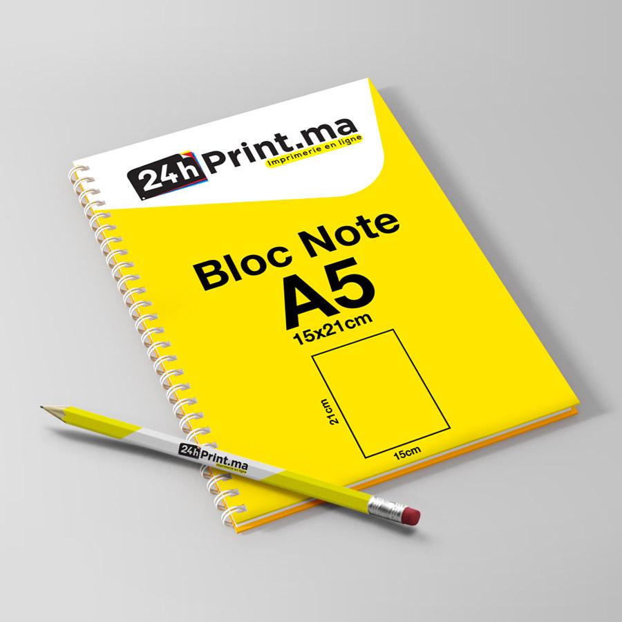 Bloc note spiral